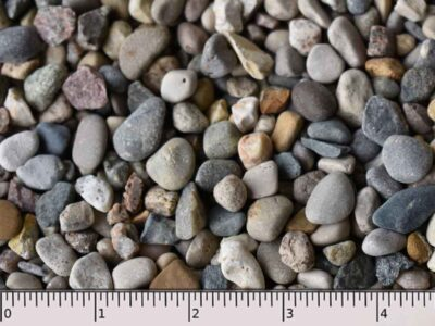 Pea Gravel or 3-8 Washed Stone