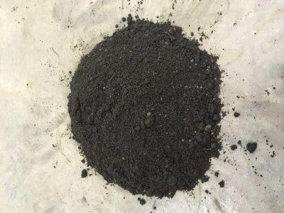 Topsoil-Compost Blend wet